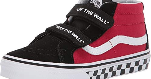 e100c9ee10 Vans Boy s Kids Logo Sk8 Mid Reissue V Skate Shoes (12 M US Little ...