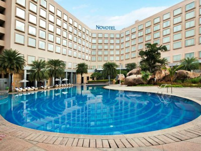 Novotel Hotel in the City of Hyderabad