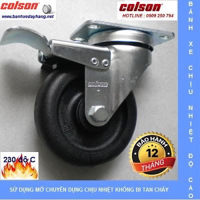 Các loại bánh xe đẩy chịu nhiệt độ cao Colson Caster Mỹ www.banhxepu.net