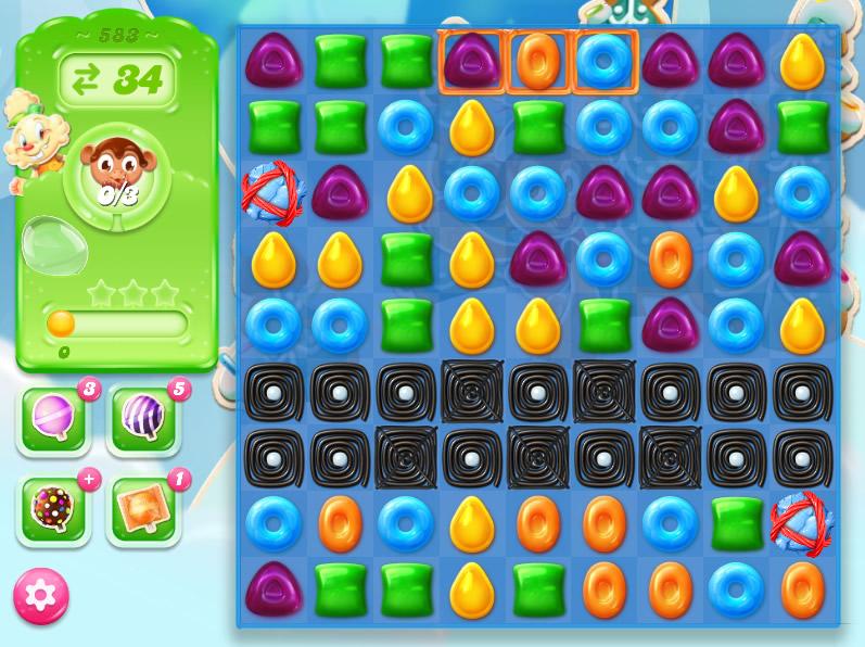 Candy Crush Jelly Saga level 583