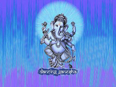 Dancing Ganesha-colorfull-pics-images