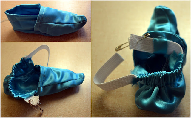 FREE PATTERN: Genie Or Jasmine Baby Shoes