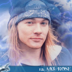 The 30 Greatest Music Legends Of Our Time: 12. Axl Rose