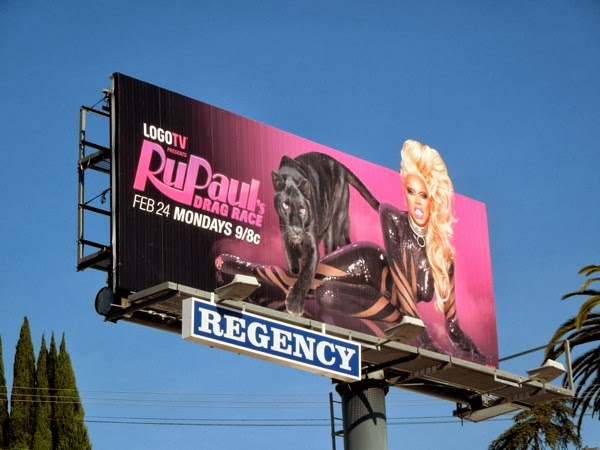 RuPaul's Drag Race season 6 billboard
