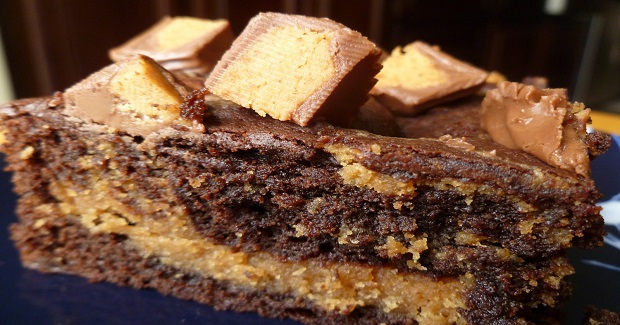 Chocolate Peanut Butter Fusion Brownie Recipe