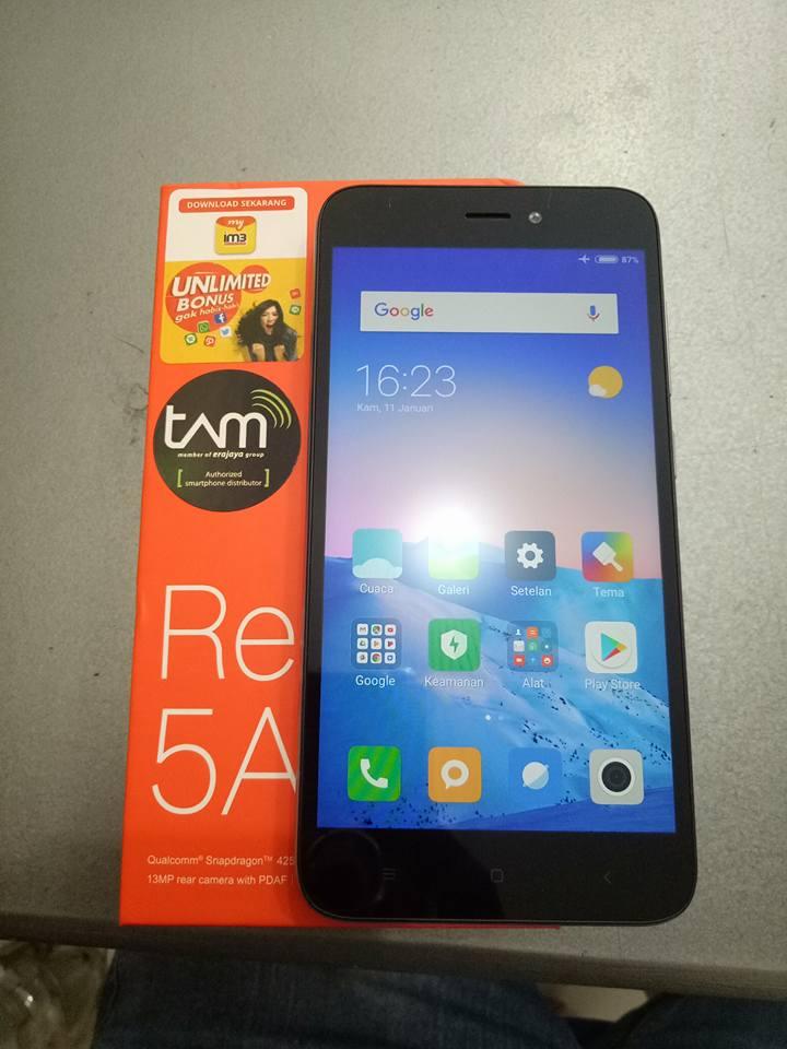 Redmi 5A - ponsel xiaomi paling murah 999 ribu