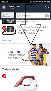 (All Answers) Amazon Fashion Refresh Quiz-Win Rs.4000