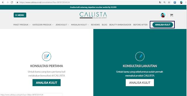 Pengalaman Konsultasi Online di CALLISTA