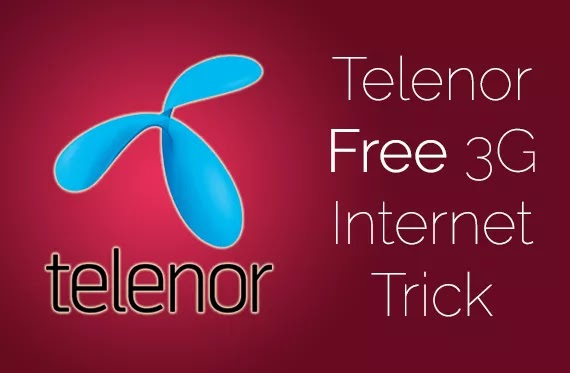 Telenor Free Unlimited Internet on Your Freedom app Settings