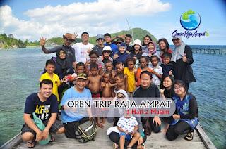 Open Trip Raja Ampat Jadwal Terbaru