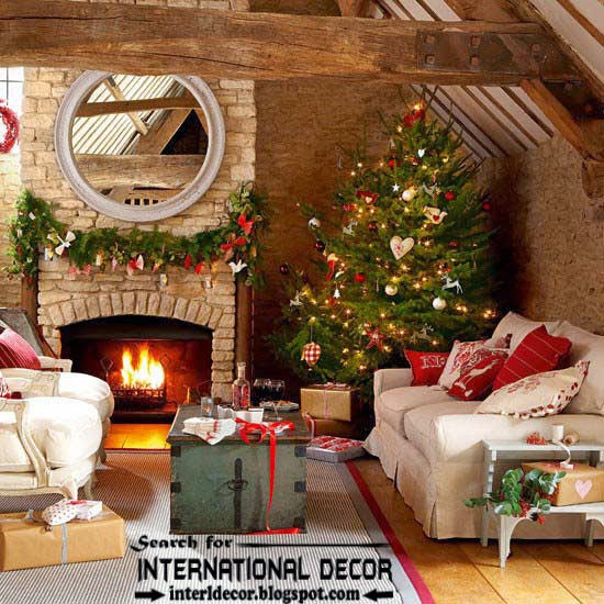christmas decorating ideas for fireplace 2015 christmas fireplace mantel decor 2015 - Best Christmas Mantel Decorations