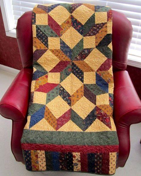 Carpenter Star Quilt Free Pattern