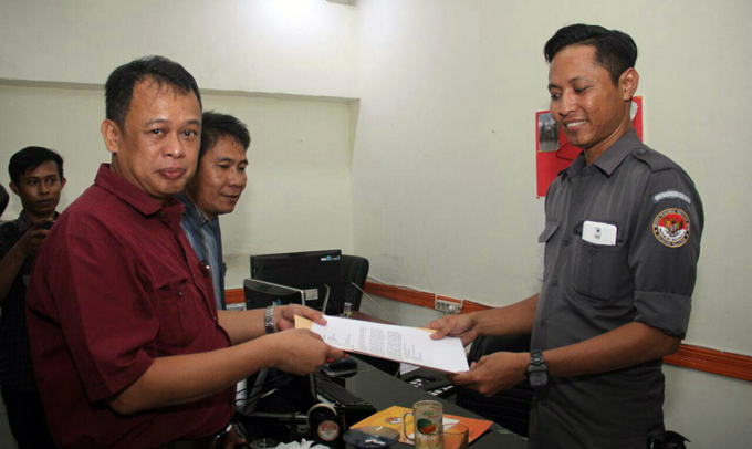 Tim Hukum IYL-Cakka Lapor Penyebar Dokumen di Pangkep ke Bawaslu