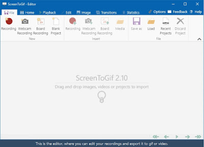 ScreenToGIF sau Cum editezi un GIF in Windows