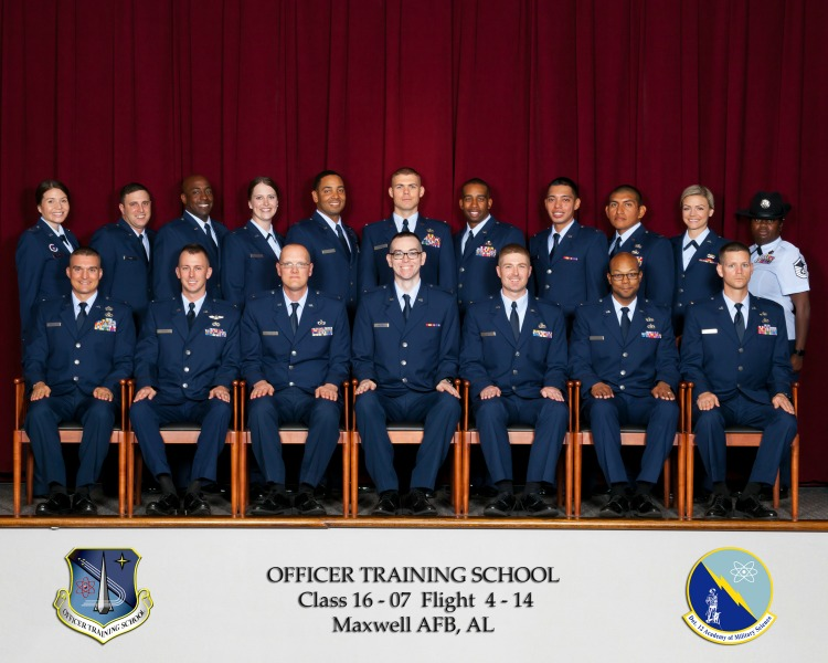 Charming Officer Training School, Air Force OTS Graduation