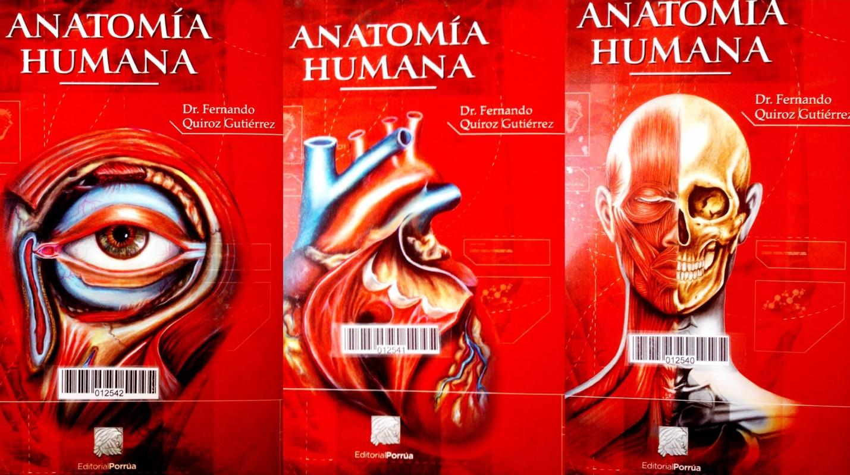 Anatomía humana, 43va Edición – Fernando Quiroz Gutiérrez [3 Tomos ...