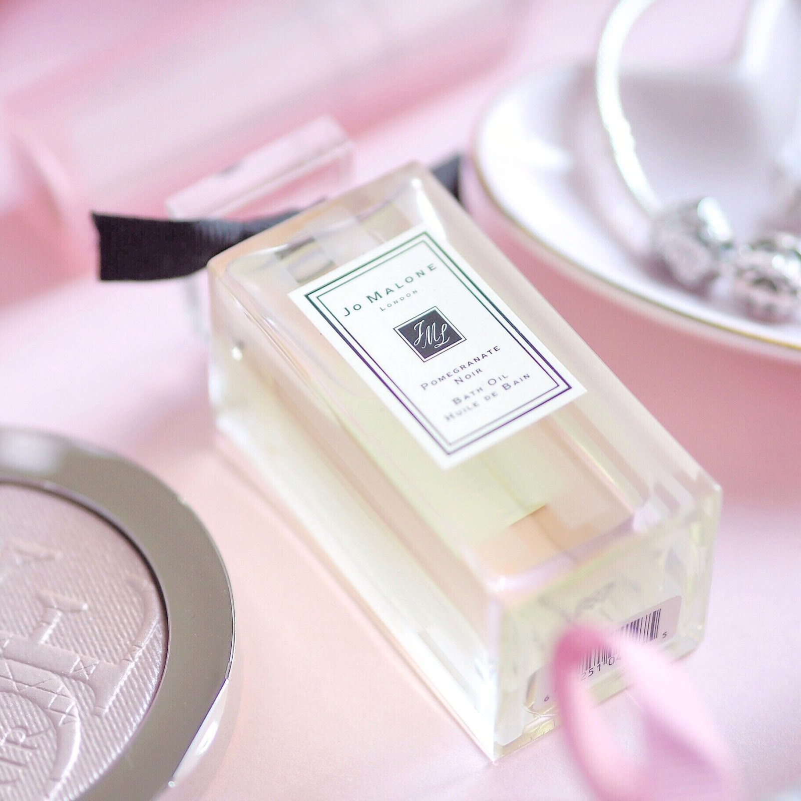 Jo Malone Pomegranate Noir Bath Oil | What I Got Treated To On Christmas Day