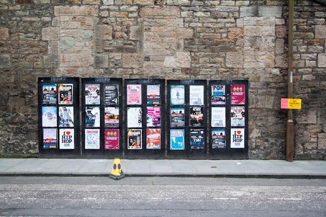 Mercato a Castle terrace-Edimburgo