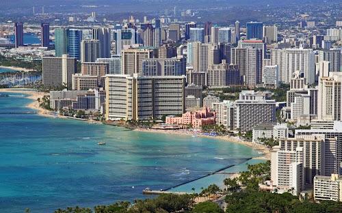 Foto da cidade de Honolulu - Havaí