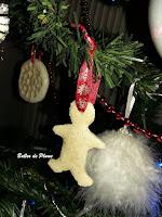 DIY Suspensions de Noël pâte à sel