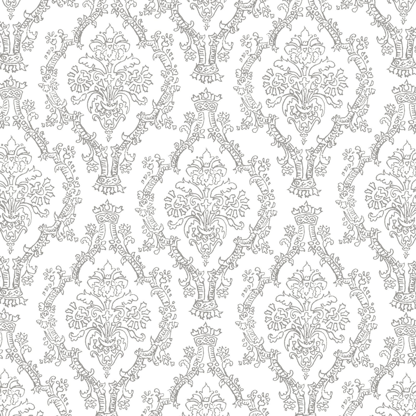 Grey And White Pattern Mel Stampz 19 Colour Pencil Damask Patterns