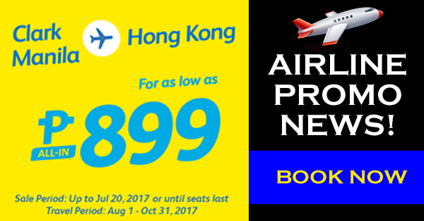 hong kong promo flights