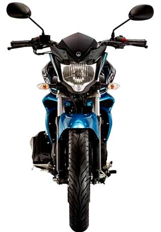 Tampak Depan Yamaha Byson FI 2015 - Yamaha FZ-S FI