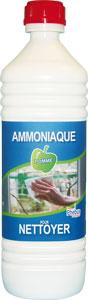 Ammoniaque en bouteille