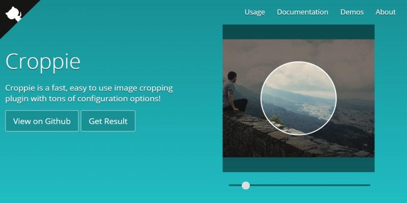 前端使用 JS 裁切圖片並壓縮再存到後端﹍Croppie 實作範例