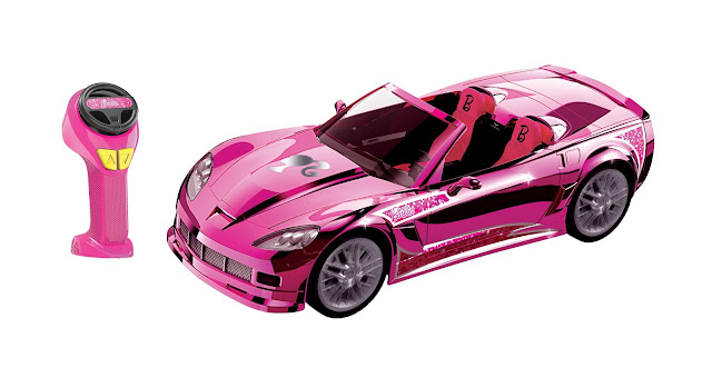 The Barbie Cruising' Corvette R/C