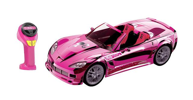 The Barbie Cruising' Corvette R/C