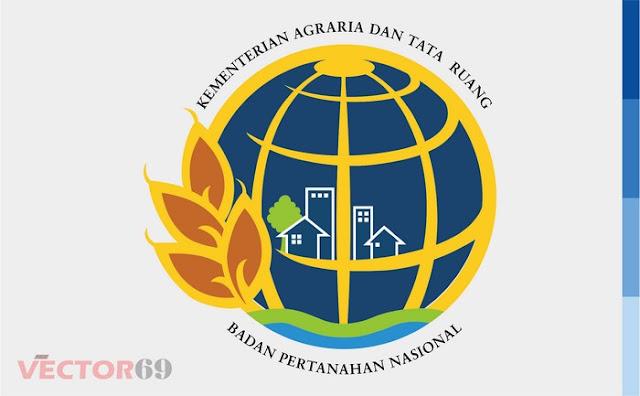 Logo Kementerian Agraria dan Tata Ruang (ATR-BPN) Badan Pertanahan Nasional Indonesia - Download Vector File EPS (Encapsulated PostScript)
