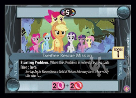 My Little Pony Everfree Rescue Mission Absolute Discord CCG Card