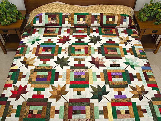 Autumn At The Courthouse Quilt by Amish Country Lanes, The Pattern by Debbie Pierce for Love of Quilting