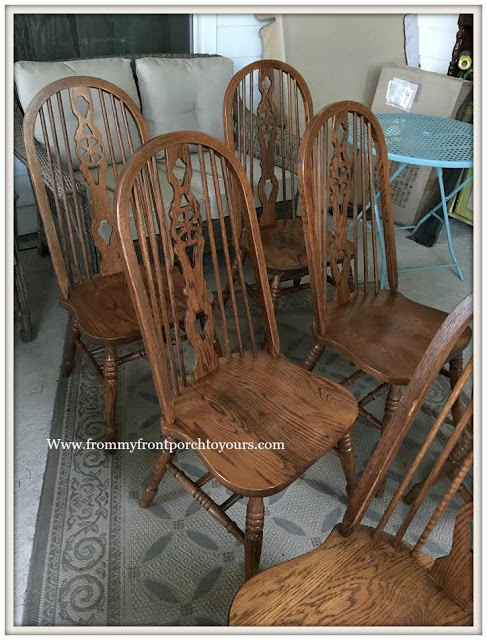 French Country-Farmhouse-Dining Room-Fiddleback Chairs-From My Front Porch To Yours