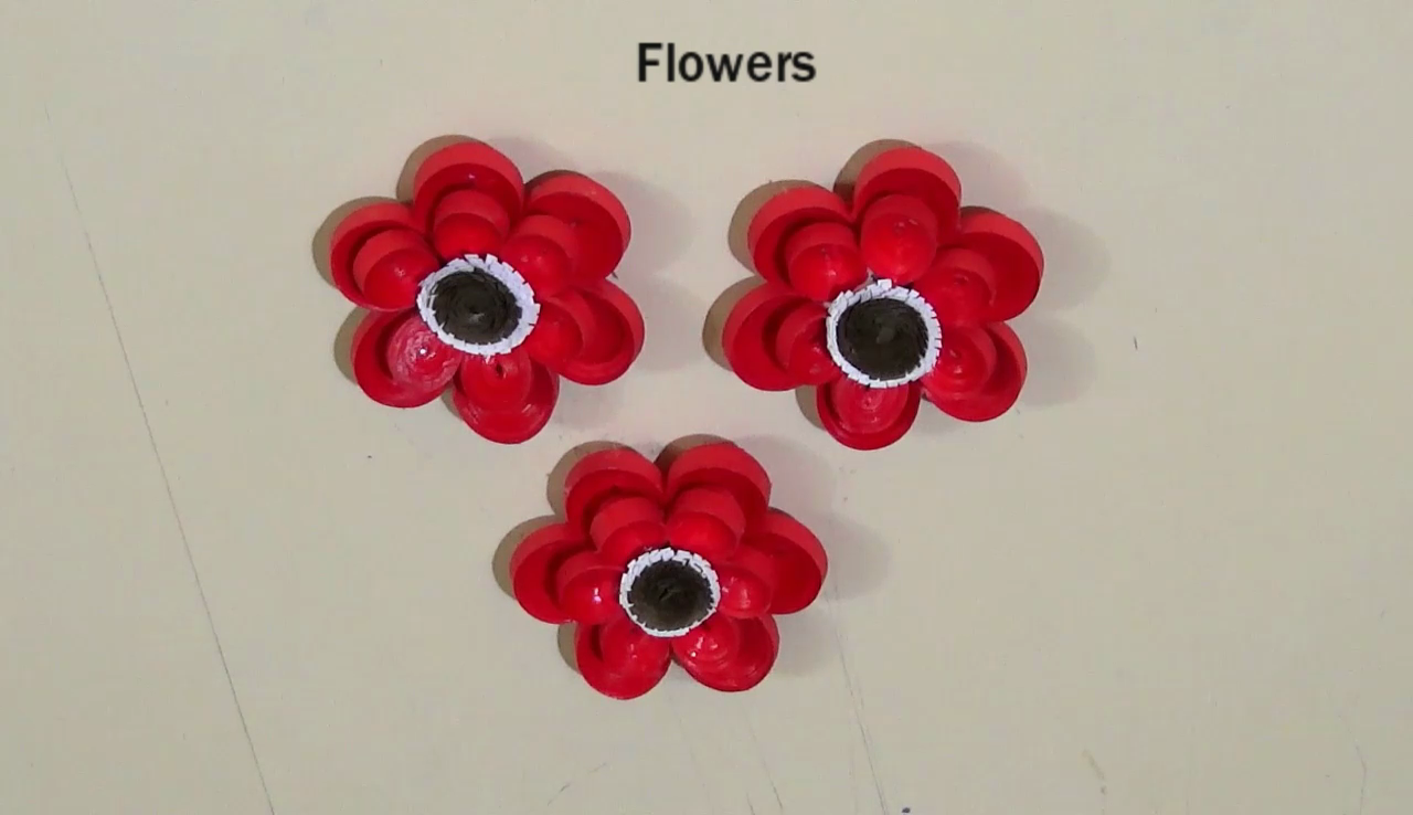 Paper Quilling Making Quilling Flower Bouquet Step By Step Paper