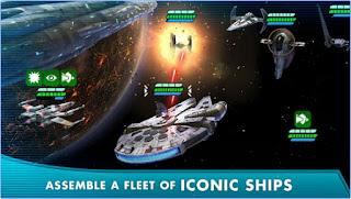 تحميل لعبة حرب النجوم Star Wars Galaxy of Heroes للاندرويد مجاناً