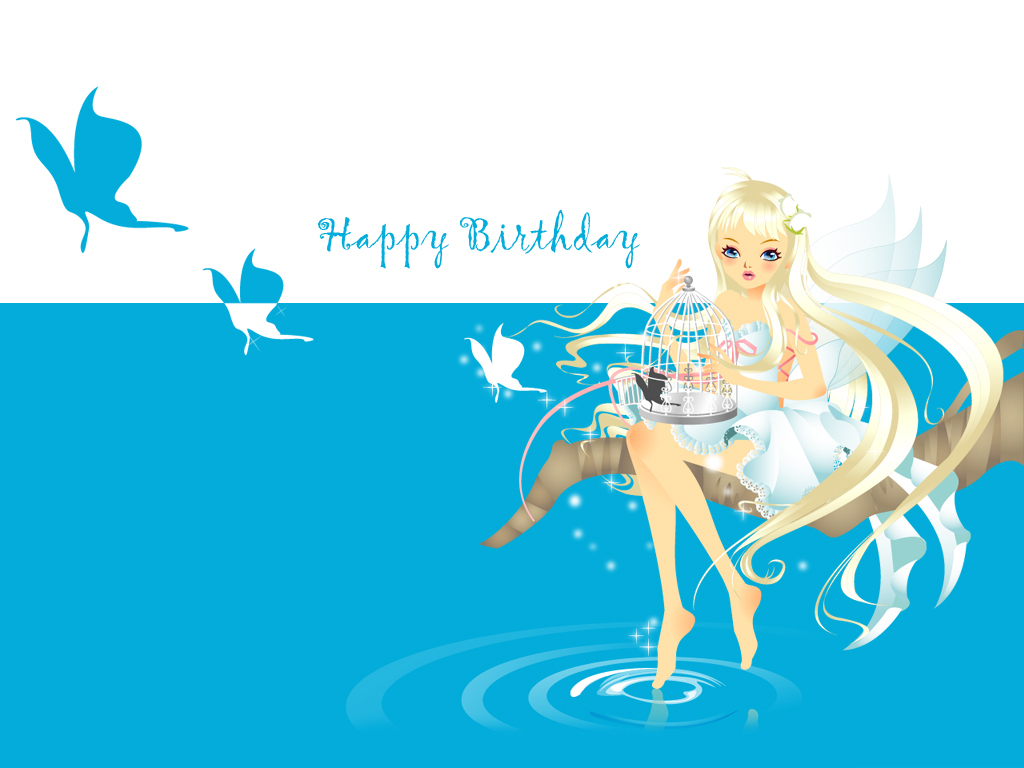 3d Happy Birthday Wallpaper Free 3d Wallpaper Download