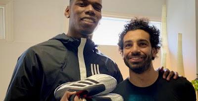 fa200297fba Paul Pogba   Salah Accidentally Leak Adidas Predator 19+   X 2019 Champions  League Final Boots