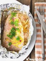 Paquetitos de pescado con hinojo