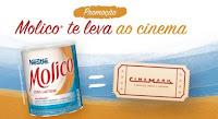 Promoção Molico te leva ao cinema promomolico.com.br