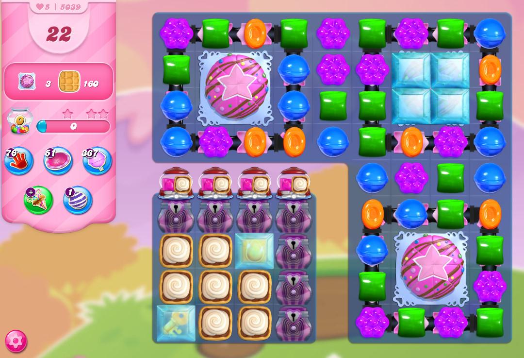 Candy Crush Saga level 5039