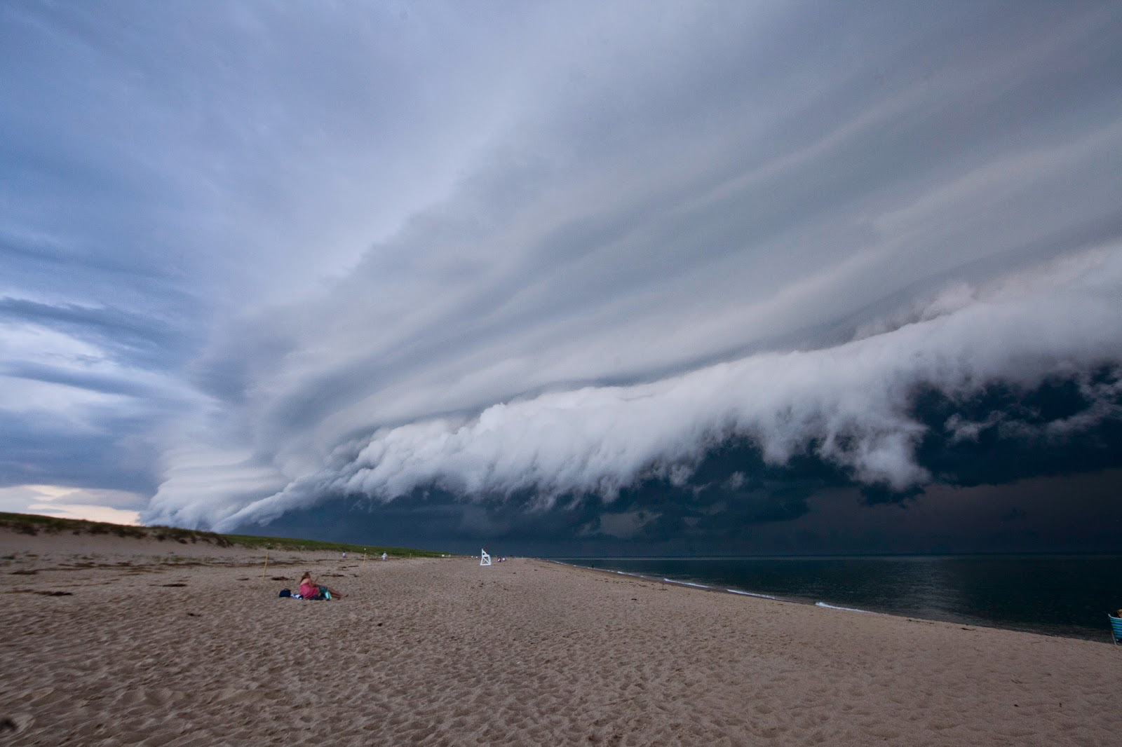 11.) Cape Cod, Massachusetts. - These Clouds Are Scary As Hell. Better Bring An Umbrella.
