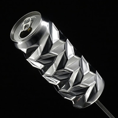 Amazing Aluminum Can Art.