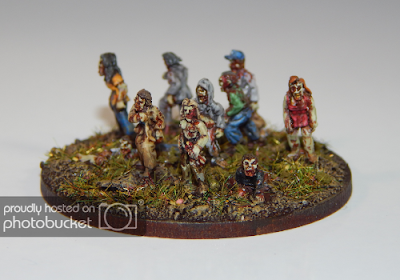 1st place: Zombies, by Matt of Munslow - wins £20 Pendraken credit, and a £20 voucher from Wargames Emporium!