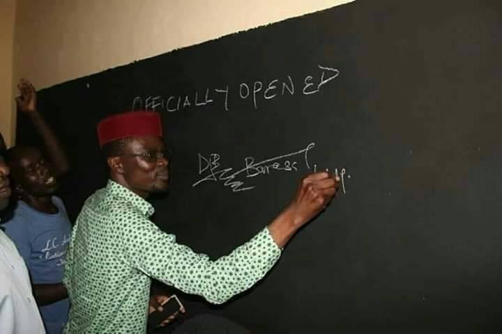 Huduma%2Bnumber%2B1 - These leaders take us for fools! See Kimilili MP DIDMUS BARASA launching a black-board(PHOTO).
