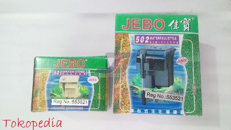 Gambar Filter Aquarium Air Tawar Jebo 502