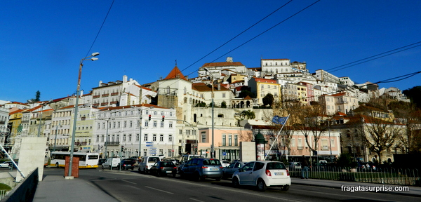 Coimbra vista da Ponte de Santa Clara
