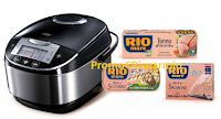 Logo Concorso Rio Mare #IlPesceFaBene: vinci 77 Multi Cooker Russel Hobs