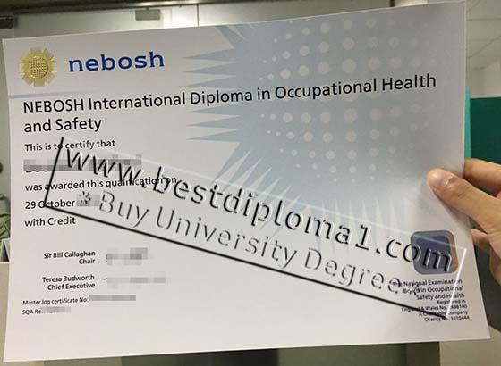 buy NEBOSH certificate